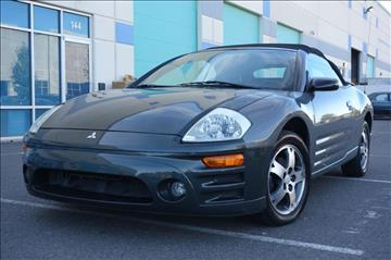 2003 Mitsubishi Eclipse Spyder for sale in Chantilly, VA