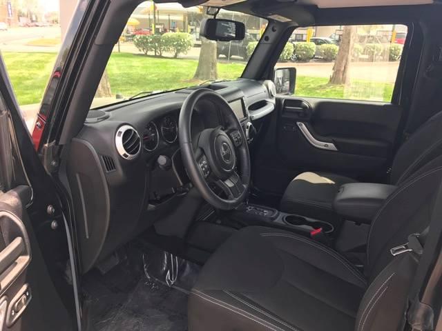 2015 Jeep Wrangler 4x4 Sahara 2dr SUV - Seymour IN