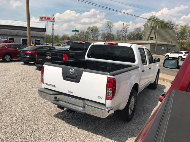 2012 Nissan Frontier 4x2 SV V6 4dr Crew Cab SWB Pickup 5A - Seymour IN