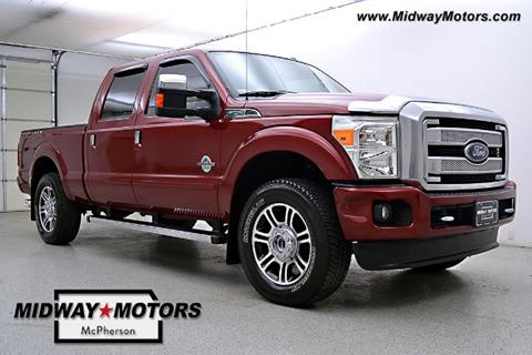 2014 Ford F-250 Super Duty for sale in Mcpherson KS