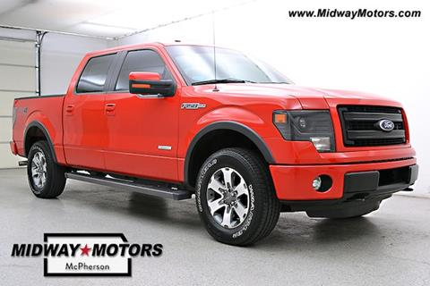 2013 Ford F-150 for sale in Mcpherson KS