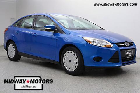 2013 Ford Focus for sale in Mcpherson KS