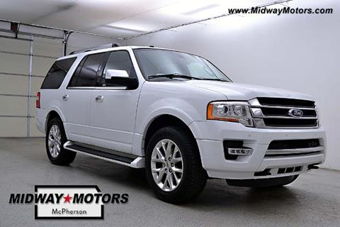 2017 Ford Expedition for sale in Mcpherson, KS