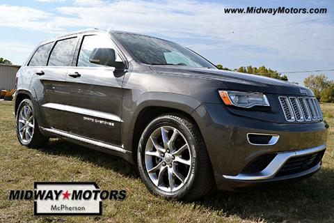 2016 Jeep Grand Cherokee for sale in Mcpherson KS