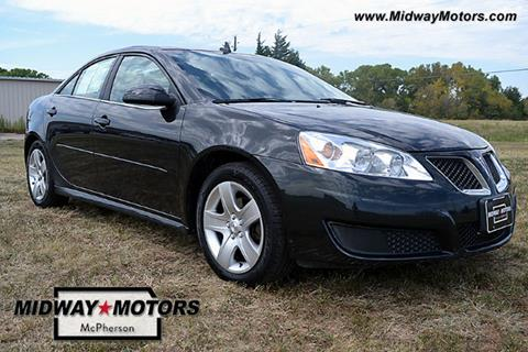 2010 Pontiac G6 for sale in Mcpherson, KS