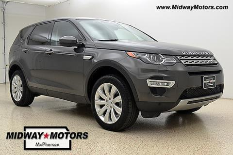 2016 Land Rover Discovery Sport for sale in Mcpherson, KS