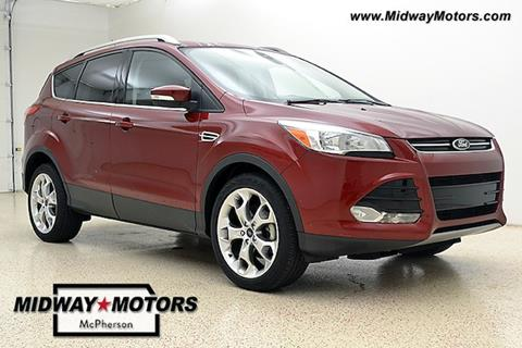 2014 Ford Escape for sale in Mcpherson KS