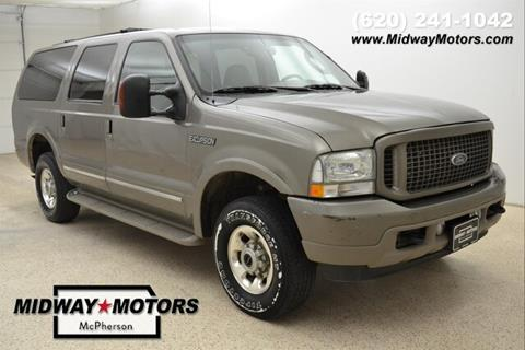 2004 Ford Excursion for sale in Mcpherson, KS