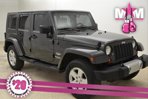 2010 Jeep Wrangler Unlimited for sale in Mcpherson, KS