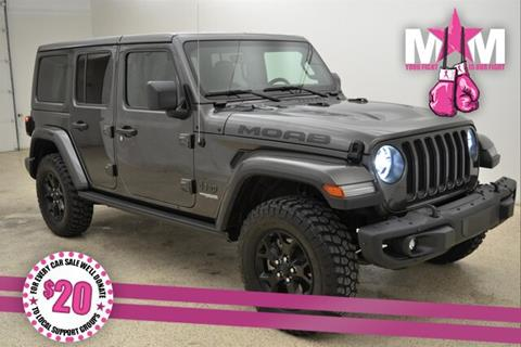 2019 Jeep Wrangler Unlimited for sale in Mcpherson, KS