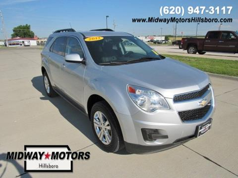 2013 Chevrolet Equinox for sale in Hillsboro, KS