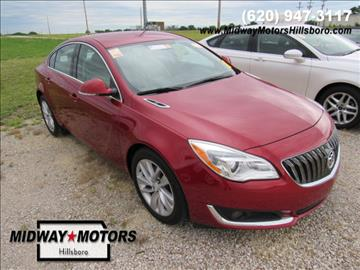 2015 Buick Regal for sale in Hillsboro, KS