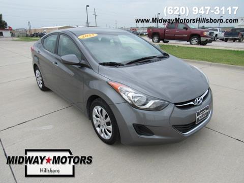 2013 Hyundai Elantra for sale in Hillsboro KS