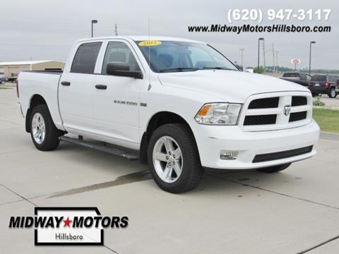 2012 RAM Ram Pickup 1500 for sale in Hillsboro, KS