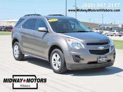 2012 Chevrolet Equinox for sale in Hillsboro KS