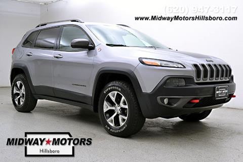 2014 Jeep Cherokee for sale in Hillsboro KS