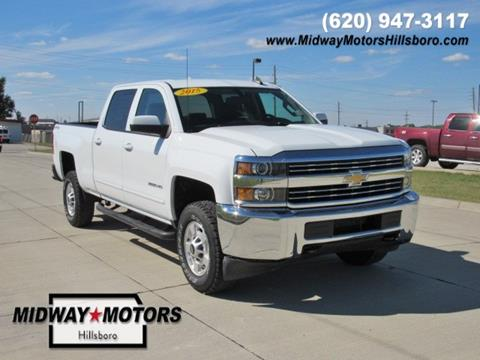 2015 Chevrolet Silverado 2500HD for sale in Hillsboro, KS