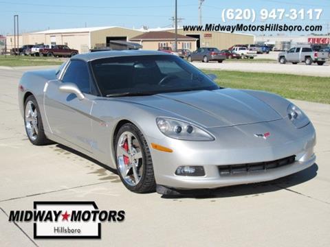 2008 Chevrolet Corvette for sale in Hillsboro KS