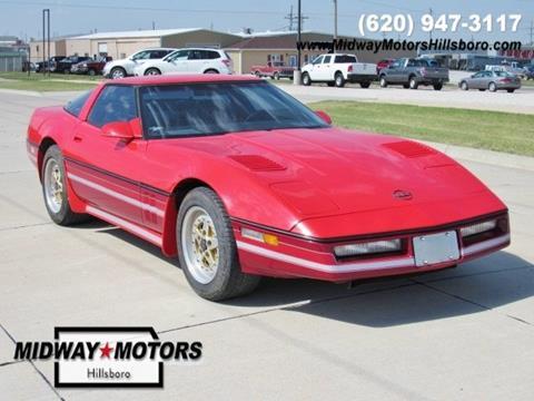 1984 Chevrolet Corvette for sale in Hillsboro, KS