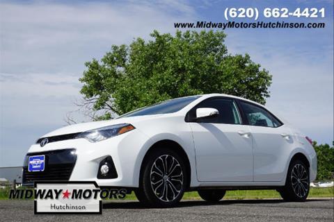 2015 Toyota Corolla for sale in Hutchinson, KS