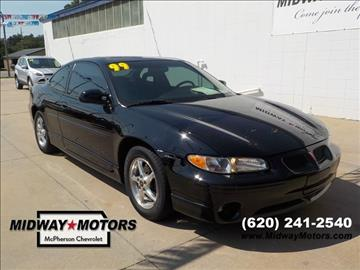 1999 Pontiac Grand Prix for sale in Mcpherson, KS