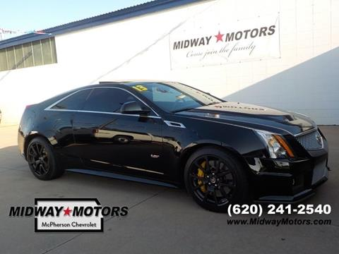 2013 Cadillac CTS-V for sale in Mcpherson, KS