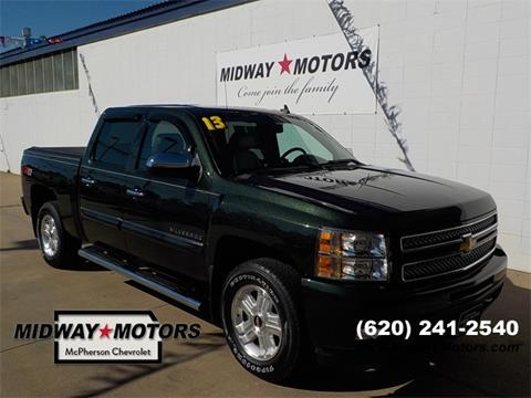 2013 Chevrolet Silverado 1500 for sale in Mcpherson, KS