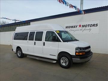 2010 Chevrolet Express Passenger for sale in Mcpherson, KS