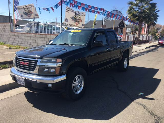 2012 gmc canyon 4x4 sle 1 4dr crew cab in livingston ca california 9450 publicscrutiny Image collections