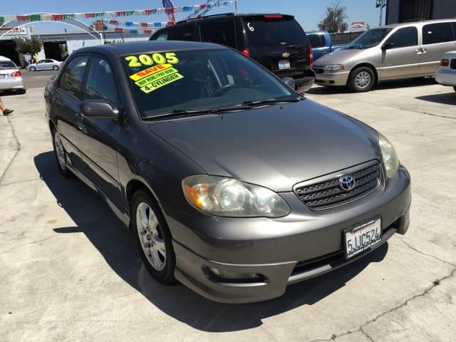 2005 Toyota Corolla for sale at CALIFORNIA AUTO SALE 2 in Livingston CA
