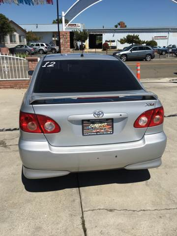 2005 Toyota Corolla XRS 4dr Sedan - Livingston CA