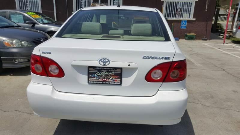 2007 Toyota Corolla LE 4dr Sedan (1.8L I4 4A) - Livingston CA