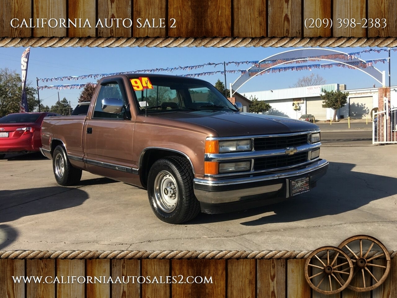 1994 Chevrolet C/K 1500 Series 2dr C1500 Cheyenne Standard Cab LB - Livingston CA