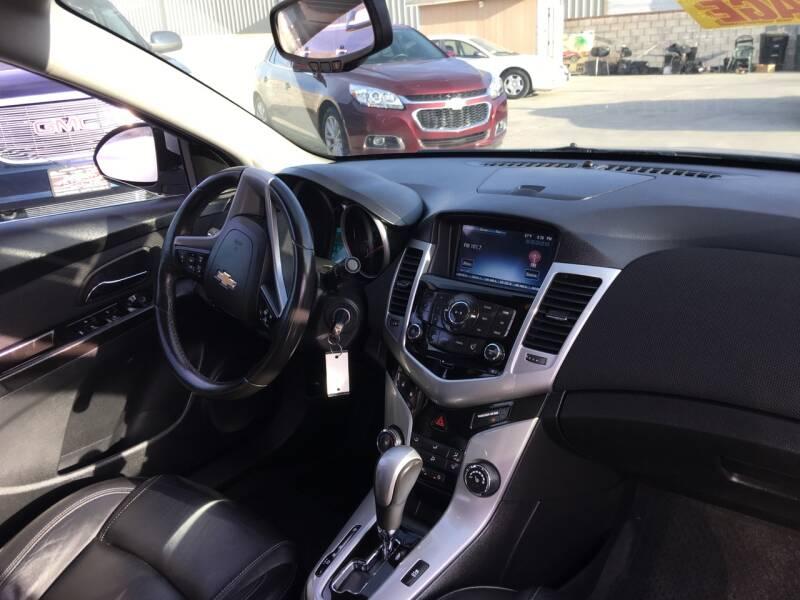 2013 Chevrolet Cruze 2LT Auto 4dr Sedan w/1SH - Livingston CA