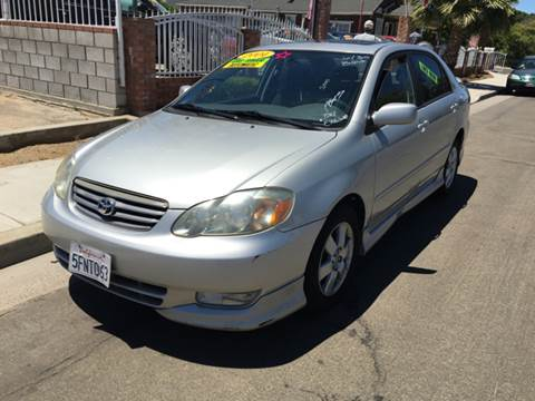 2004 Toyota Corolla for sale at CALIFORNIA AUTO SALE 2 in Livingston CA