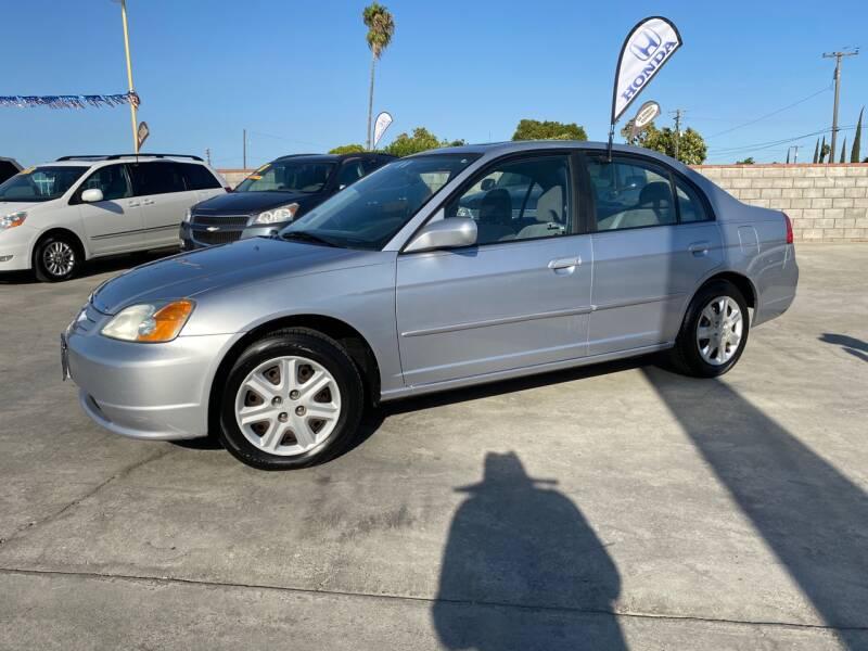 2003 Honda Civic EX 4dr Sedan - Livingston CA