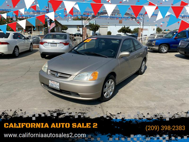 2002 Honda Civic EX 2dr Coupe - Livingston CA