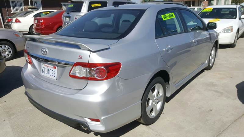 2011 Toyota Corolla S 4dr Sedan 4A - Livingston CA