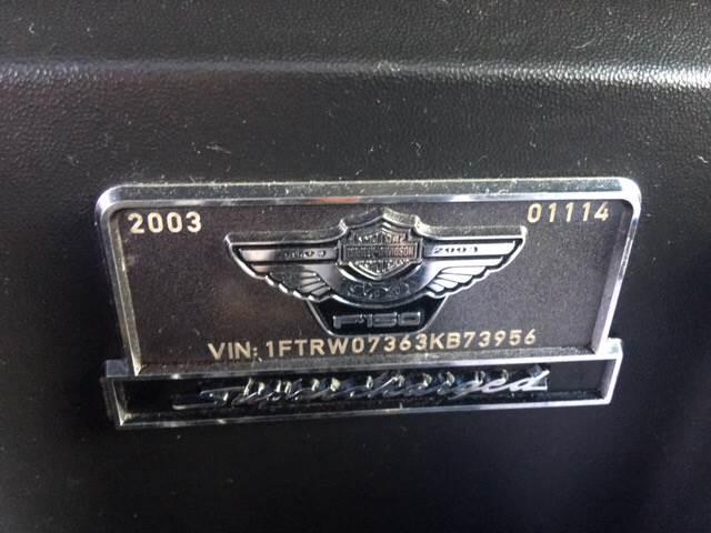2003 Ford F-150 4dr SuperCrew Harley-Davidson Rwd Styleside SB - Livingston CA