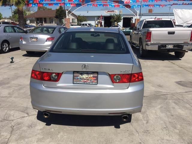 2006 Acura TSX 4dr Sedan 5A - Livingston CA