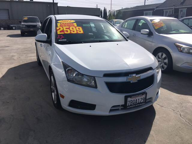 2012 Chevrolet Cruze LT 4dr Sedan w/2LT - Livingston CA
