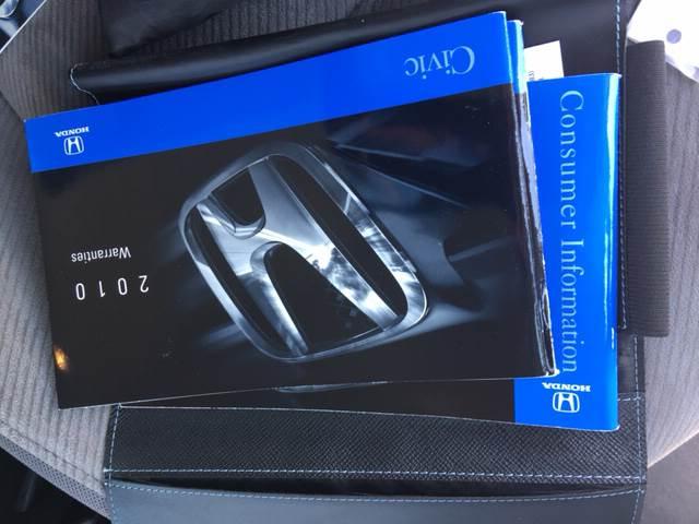 2010 Honda Civic LX 4dr Sedan 5A - Livingston CA