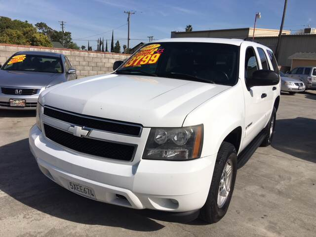 2007 Chevrolet Tahoe LS 4dr SUV 4WD - Livingston CA