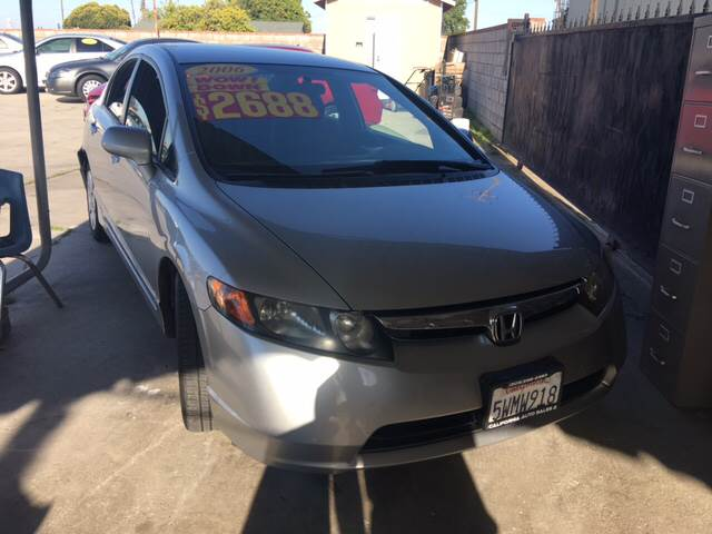 2006 Honda Civic LX 4dr Sedan w/automatic - Livingston CA