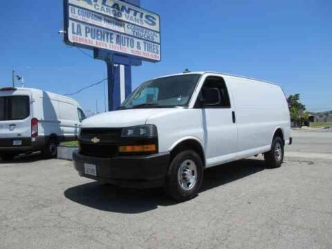 2018 Chevrolet Express Cargo 2500 for sale at Atlantis Auto Sales in La Puente CA
