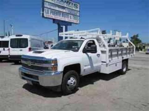 2018 Chevrolet Silverado 3500HD CC for sale at Atlantis Auto Sales in La Puente CA