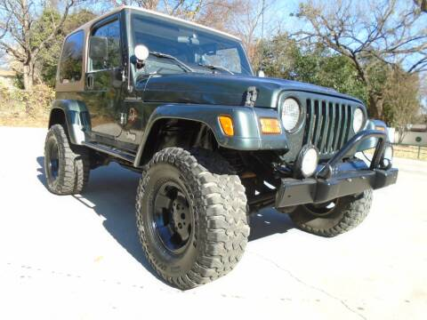 2002 Jeep Wrangler for sale in Lake Worth, TX