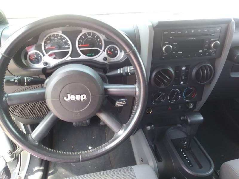 2007 Jeep Wrangler Unlimited 4x4 Sahara 4dr SUV - Pittsburg TX