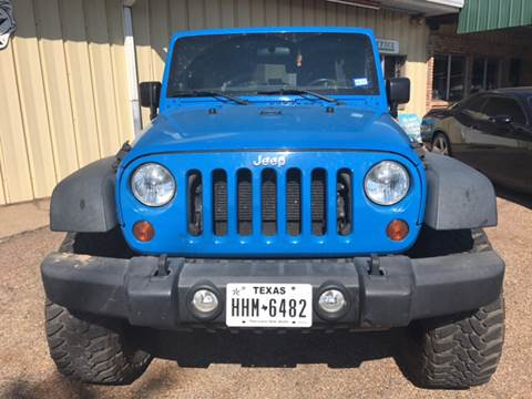2012 Jeep Wrangler Unlimited for sale in Pittsburg, TX
