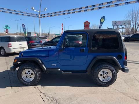 1998 Jeep Wrangler for sale in Billings, MT